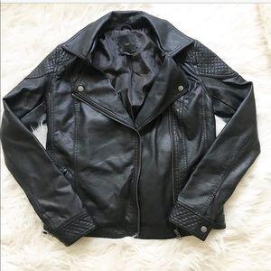 Forever 21Black leather jacket